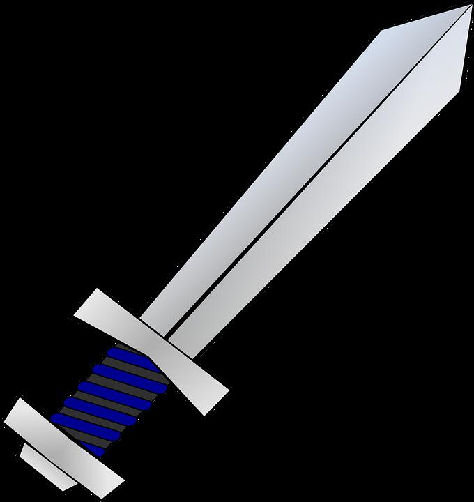 gratis vectorafbeelding kort zwaard  wapen  zwaard  blade camera clip art photographer camera clip art printable free