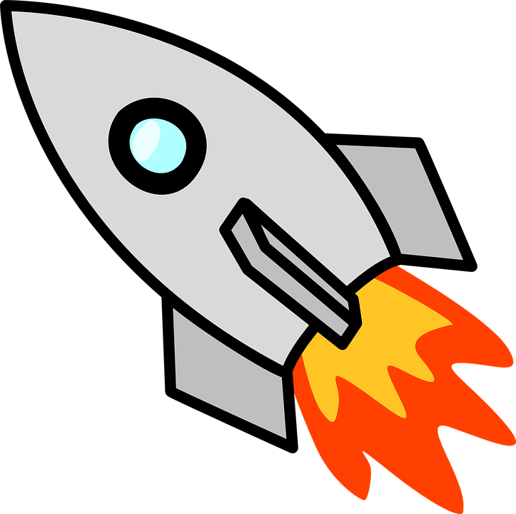 spaceship rocket ship launch space free vector graphic on pixabay rh pixabay com