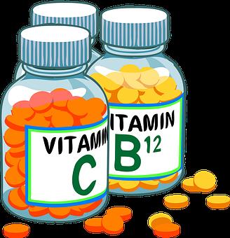 ビタミン, 錠剤, 丸, 医学, 医薬品, ボトル, 薬局, 健康