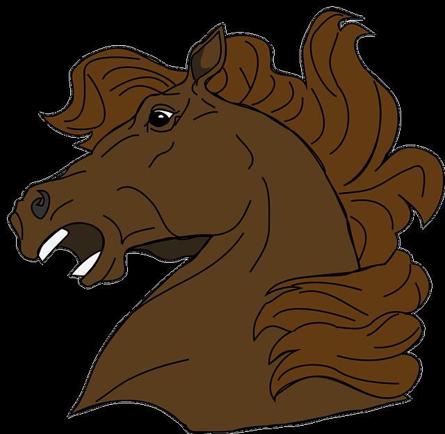 Horse Cartoon Free vector gra...