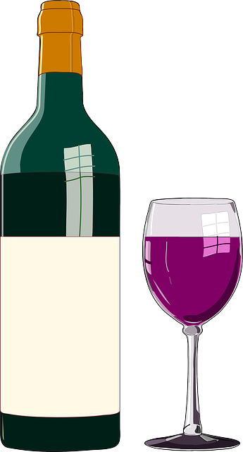 Free vector graphic wine bottle glass red wine vino for Red glass wine bottles suppliers