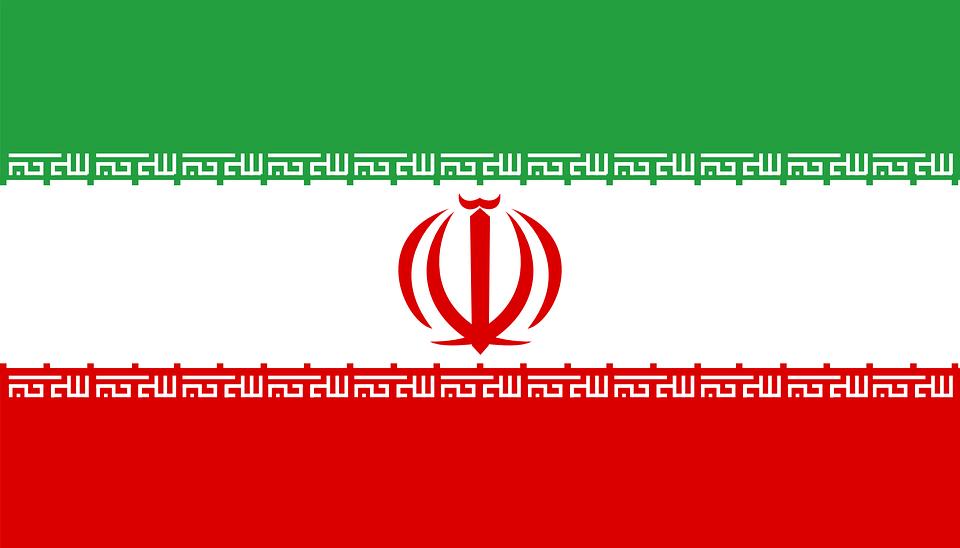 Iran, Flagge, Nationalen, Land, Zeichen, Symbole