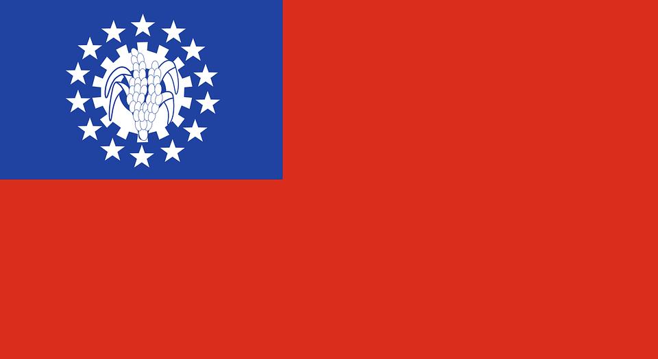 Gambar Negara Myanmar Myanmar Bendera Burma Gambar Vektor Gratis Di Pixabay