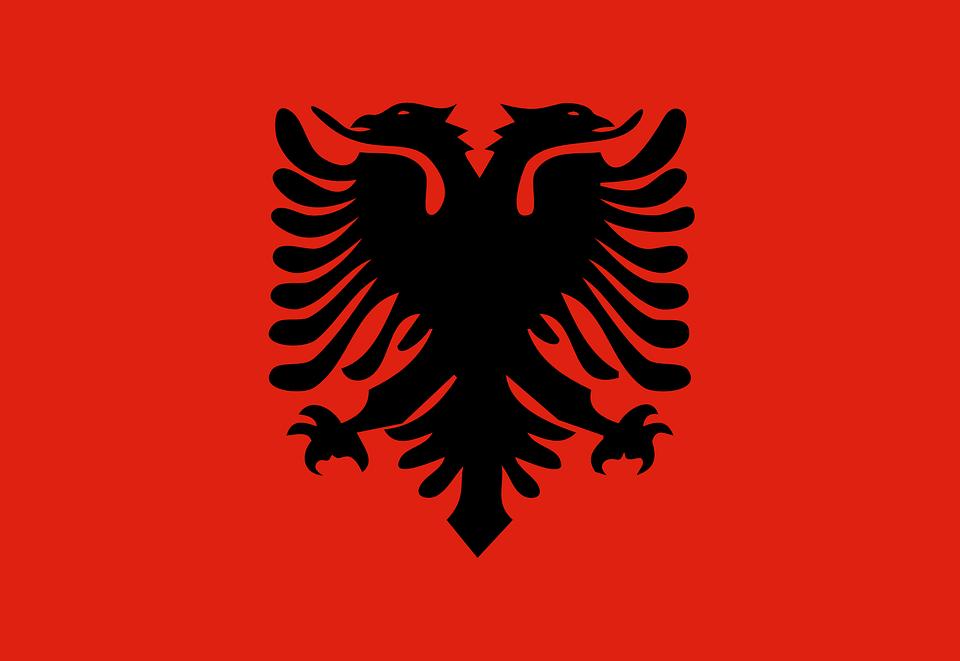 Albania Bandera Nacional - Gráficos vectoriales gratis en Pixabay