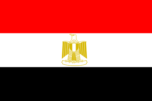 Egypt, Flag, National, Egyptian, Arabic