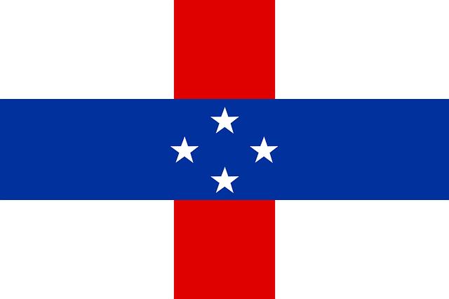 dutch caribbean flag antilles  vector graphic  pixabay