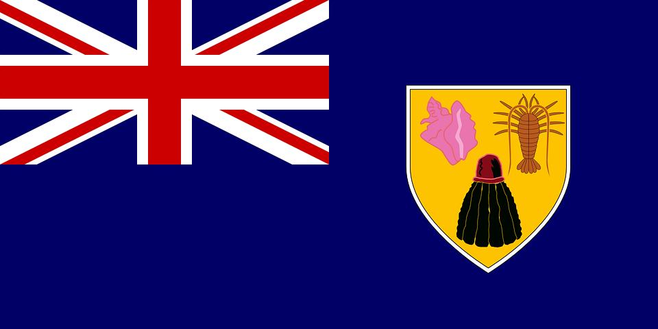 Islas Turcas Y Caicos Bandera Graficos Vectoriales Gratis En Pixabay