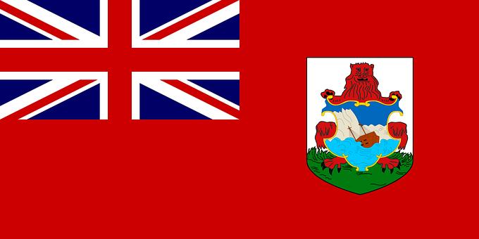 バミューダ諸島, フラグ, 公式, シンボル, 記号, イギリスの海外領土, 島