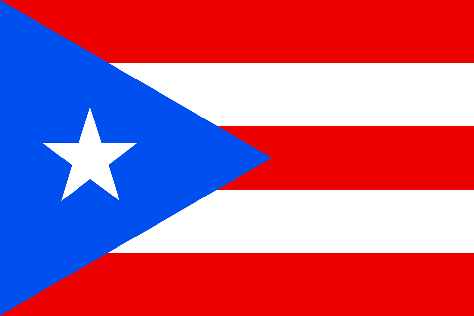 Free Vector Graphic Puerto Rico Flag Caribbean Free