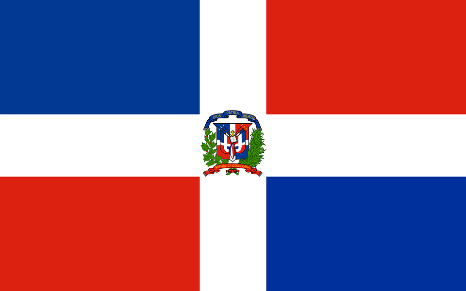 Dominican Flag Republic Free Vector Graphic On Pixabay