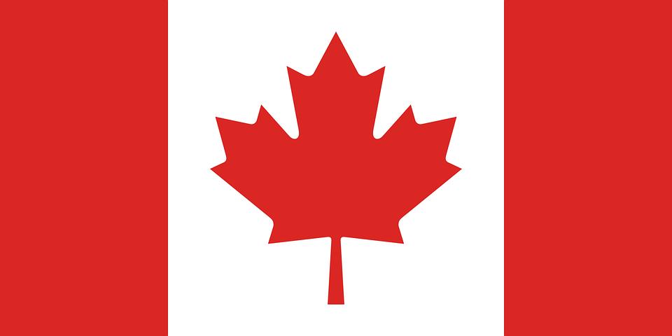 カナダ, フラグ, シンボル, 国, アイコンを, 北アメリカ, 国家