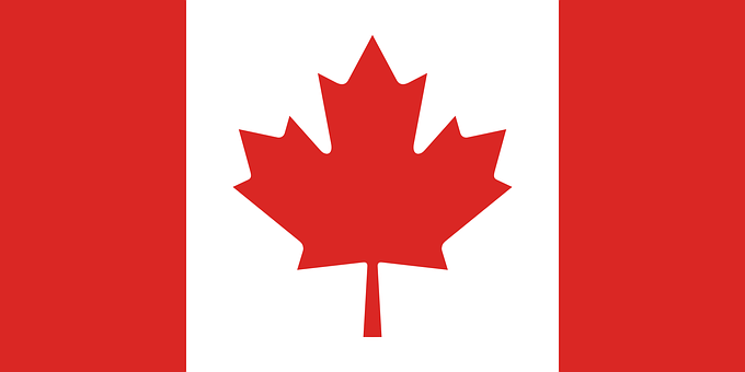 Canada, Flag, Canadian, Symbol, Country
