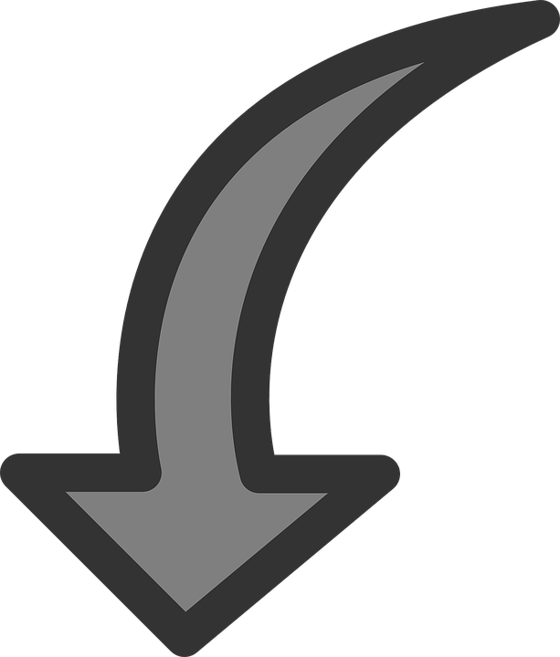 Up Arrow Clipart Black And White