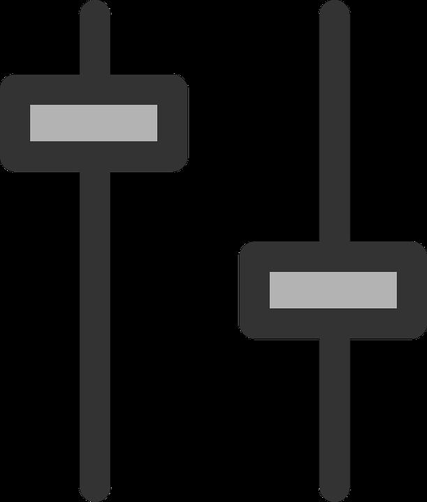 Slider Audio Mixer · Free Vector Graphic On Pixabayrhpixabay: Dj Audio Mixer Clip Art Vector Online At Gmaili.net