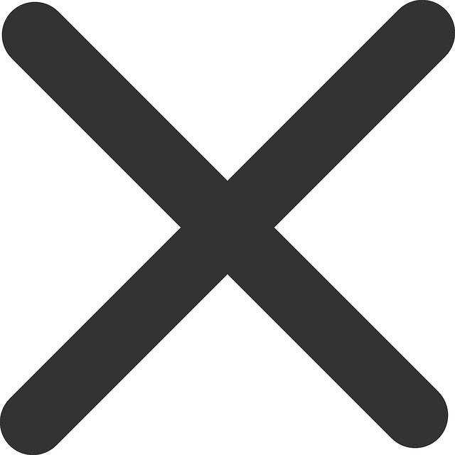 Image vectorielle gratuite: Croix, Multiplication ...