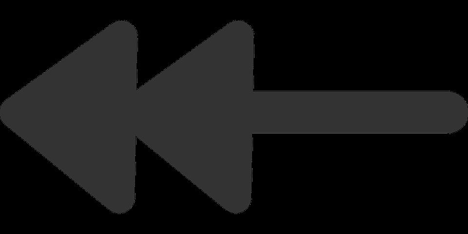 arrows double left  u00b7 free vector graphic on pixabay