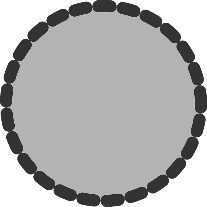 how to make a circle with transparent background outside