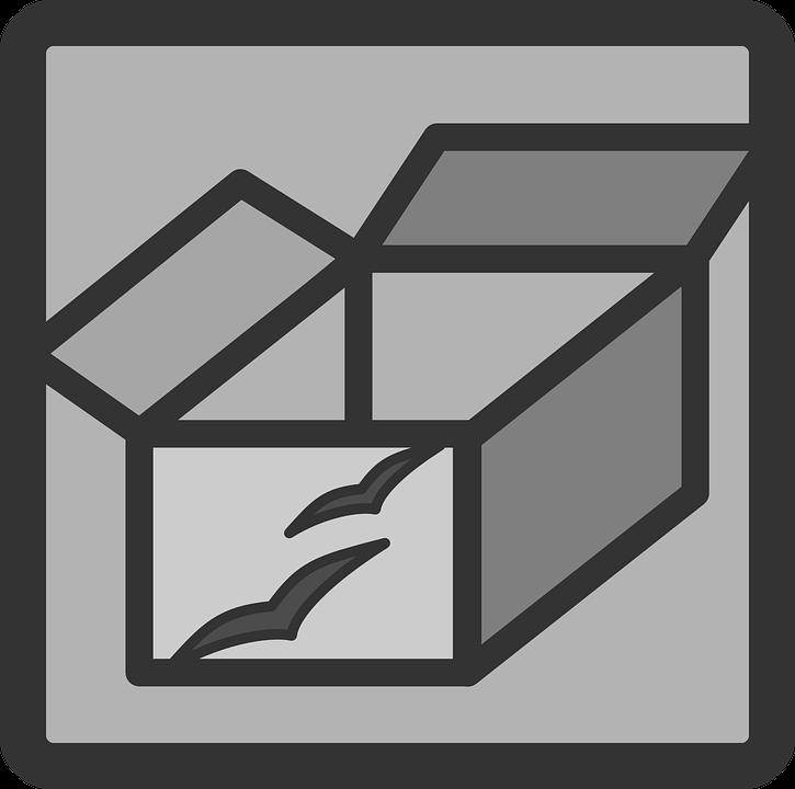 Box Open Empty Free Vector Graphic On Pixabay