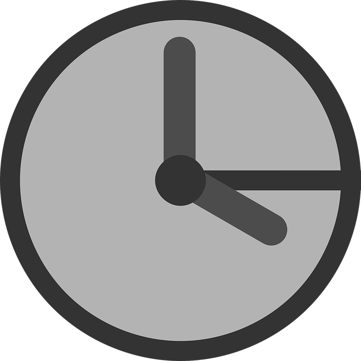 time clock icon free vector graphic on pixabay