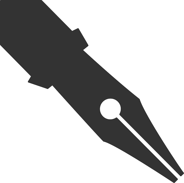 Free vector graphic nib pen writing calligraphy