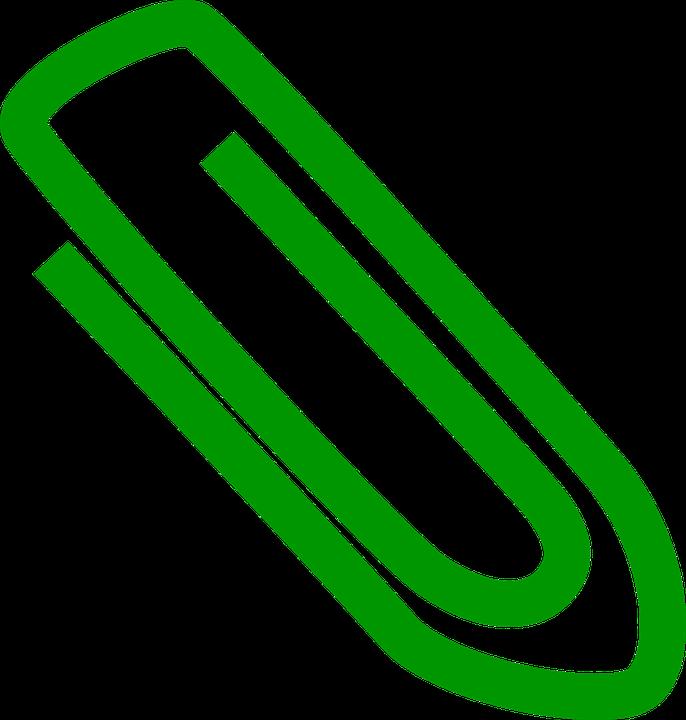 Büroklammer clipart  Kostenlose Vektorgrafik: Büroklammer, Halten, Metall - Kostenloses ...