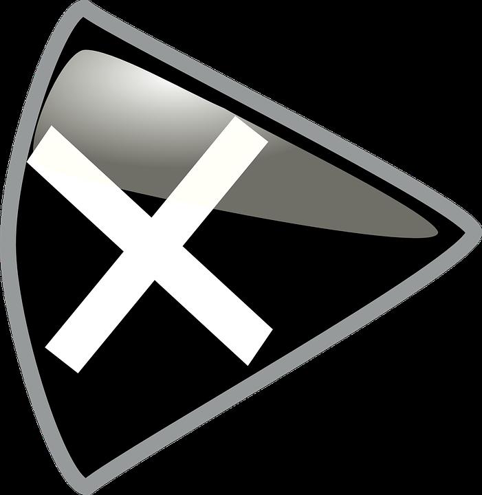 Gambar Vektor Gratis Huruf Perisai Logo Xed Keluar Dibatalkan Contoh