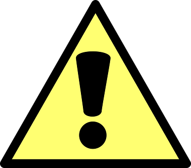 Warning, Action, Caution, Yield, Sign