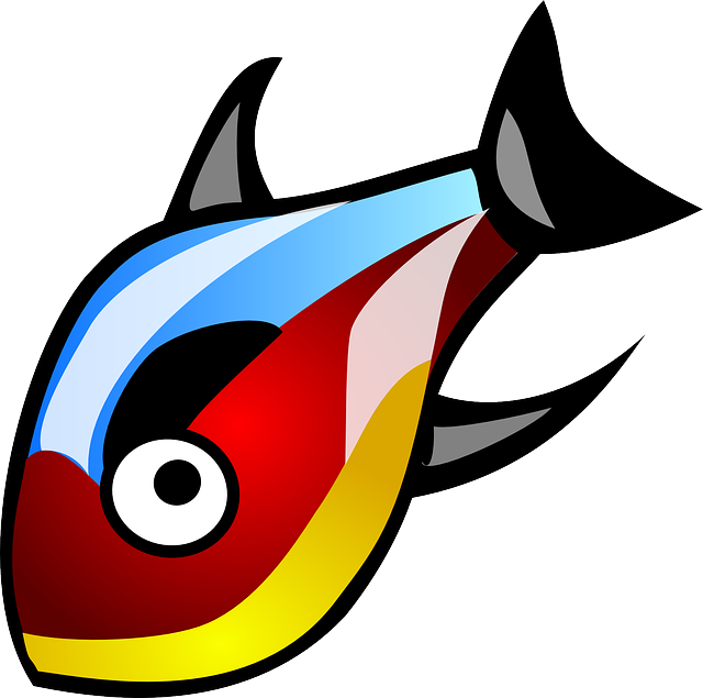 Fish Aquatic Colorful · Free vector graphic on Pixabay