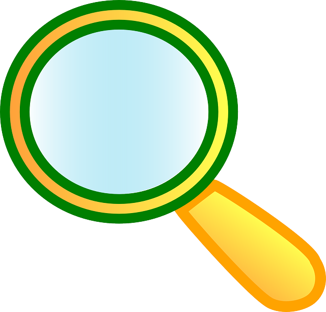 Free Vector Graphic Magnifying Glass Lens Look