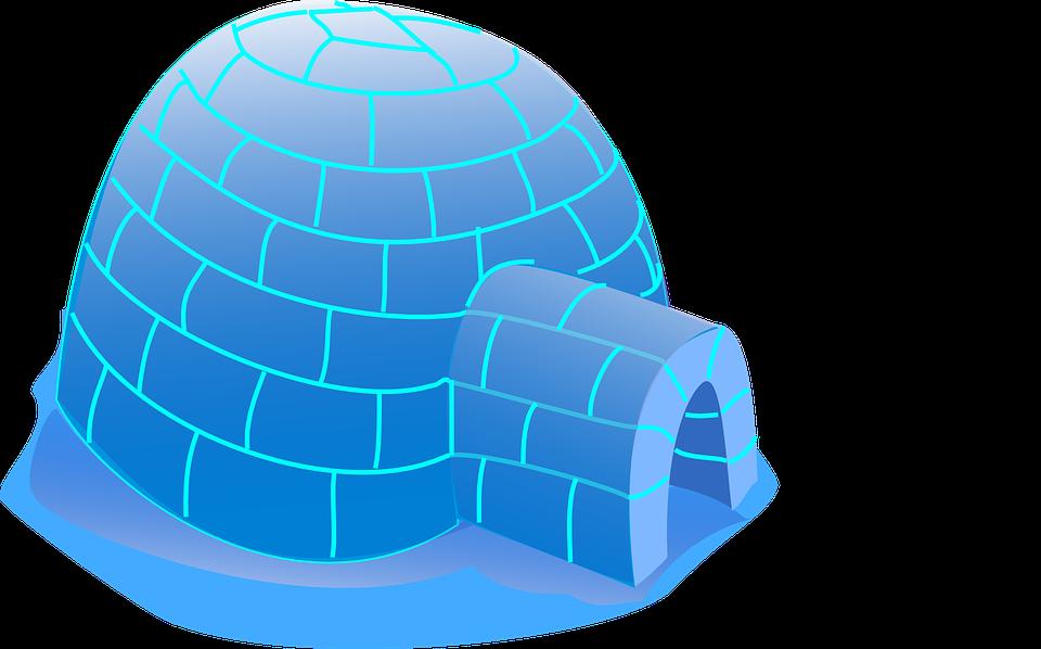 Iglú Esquimal Casa Gráficos Vectoriales Gratis En Pixabay