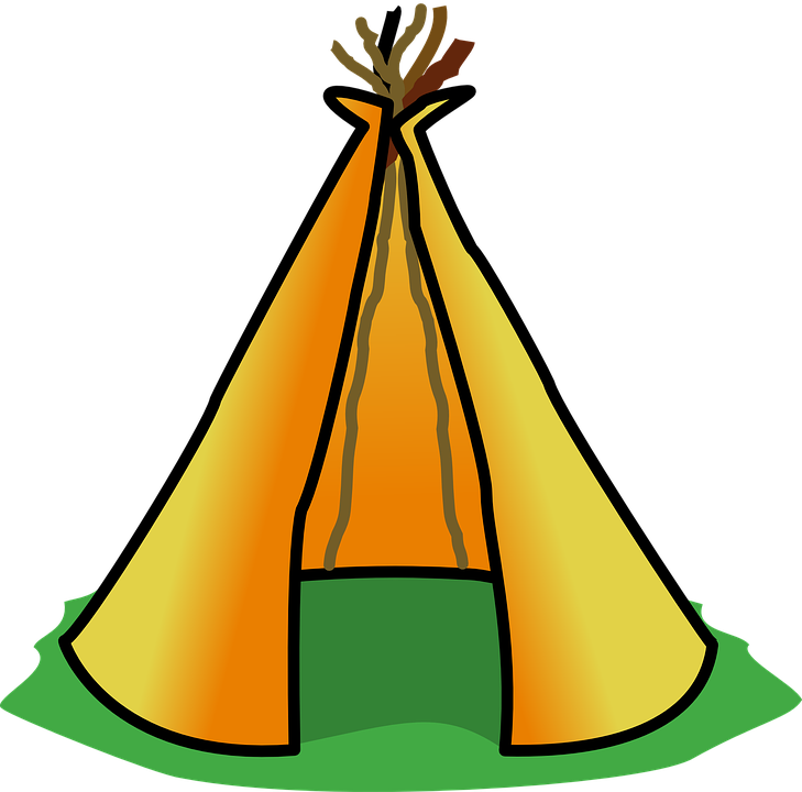 Teepee Tipi Tent Indian Native American Building  sc 1 st  Pixabay & Free vector graphic: Teepee Tipi Tent Indian - Free Image on ...