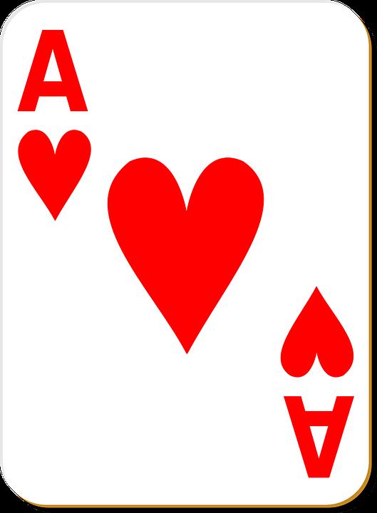 Ace Hati Bermain Gambar Vektor Gratis Di Pixabay