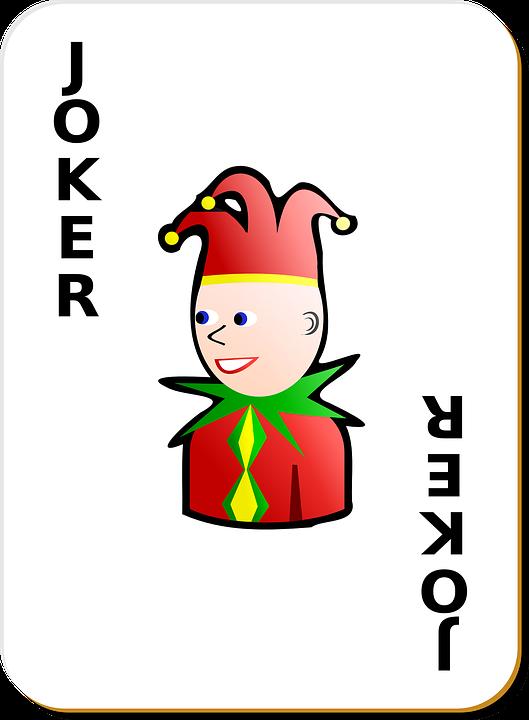 Joker Karty Do Gry Darmowa Grafika Wektorowa Na Pixabay