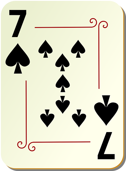 Spades Seven 7 Free Vector Graphic On Pixabay