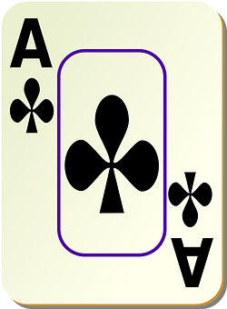 Ace, Clubs, Poker, Casino, Play, Club