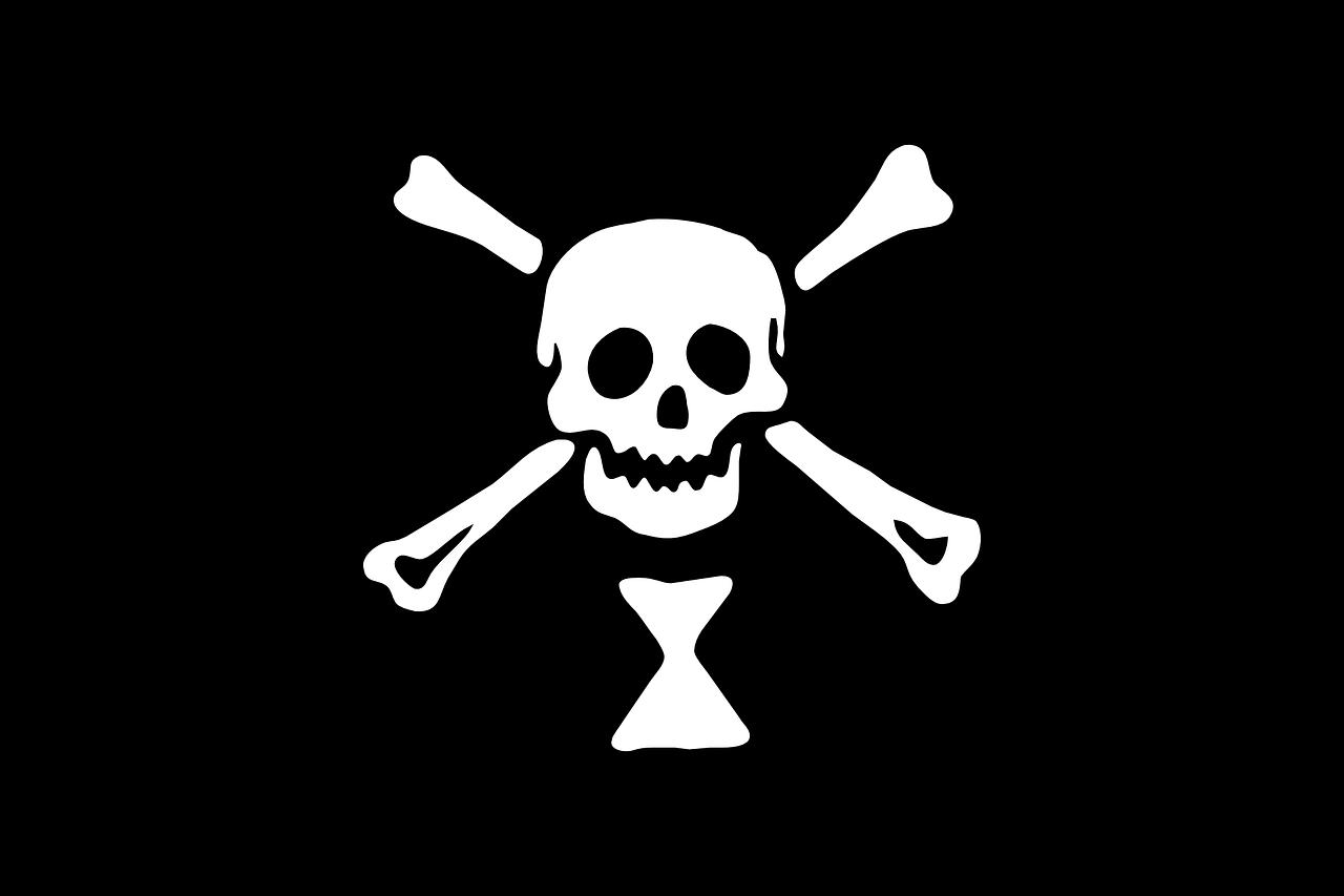 фотообои пиратский флаг опасны поездки