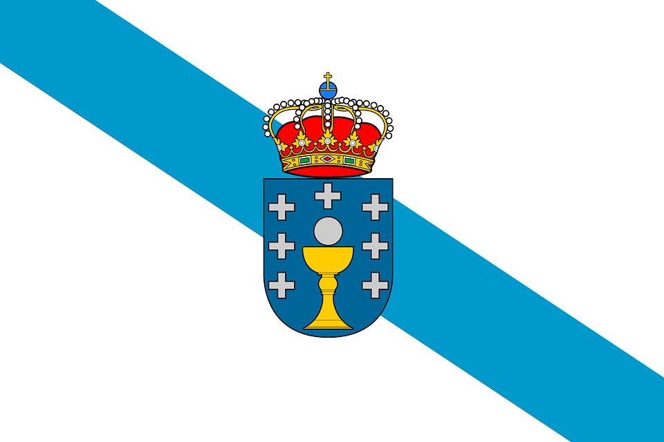 Resultado de imagen de bandera GALICIA