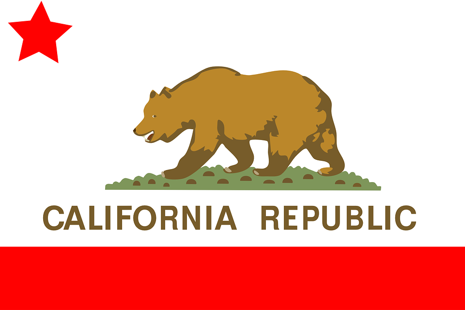 Flag California State - Free vector graphic on Pixabay