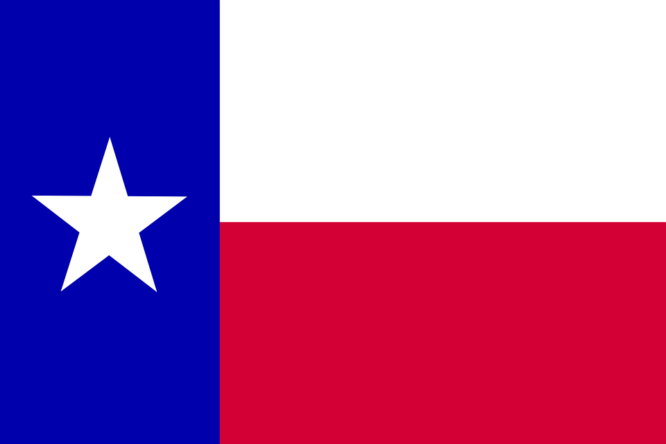 On State Pixabay Flag - Lone Graphic Texas Vector Free