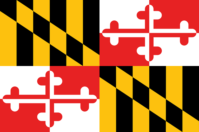 flag maryland state coat of free vector graphic on pixabay rh pixabay com maryland flag crab vector waving maryland flag vector