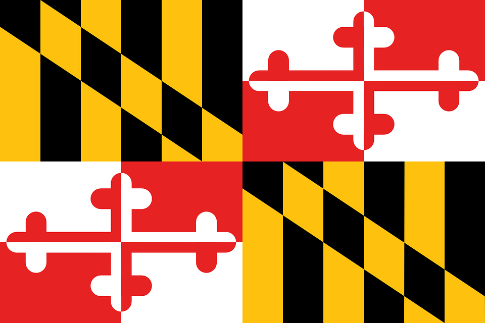 flag maryland state coat of free vector graphic on pixabay rh pixabay com maryland flag vector file maryland flag vector file