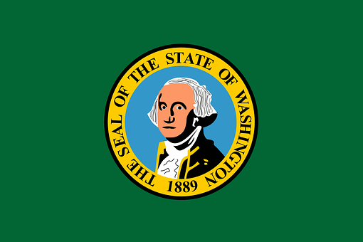 Flag, State, Washington