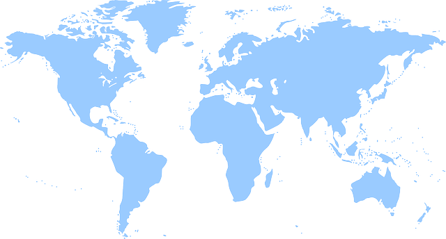 Continents world map free vector graphic on pixabay gumiabroncs Image collections