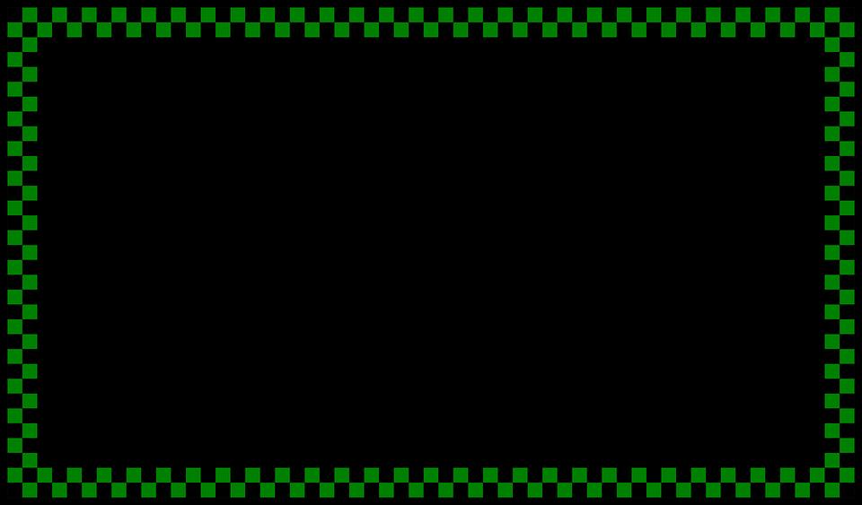 Frontera Marco Verde · Gráficos vectoriales gratis en Pixabay