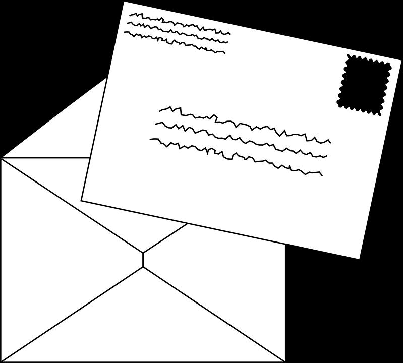 mail stamp envelope letter postage postal