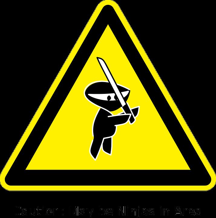 ninja zeichen