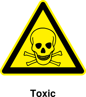 Toxic, Materials, Warning, Poisonous