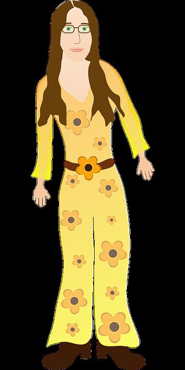 Hippie Kleidung Jahrgang 60er Kostenlose Vektorgrafik Auf Pixabay