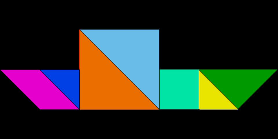 Rompecabezas Juego Tangram Graficos Vectoriales Gratis En Pixabay