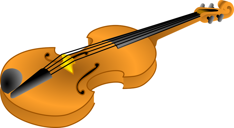 violin musical fiddle · free vector graphic on pixabay